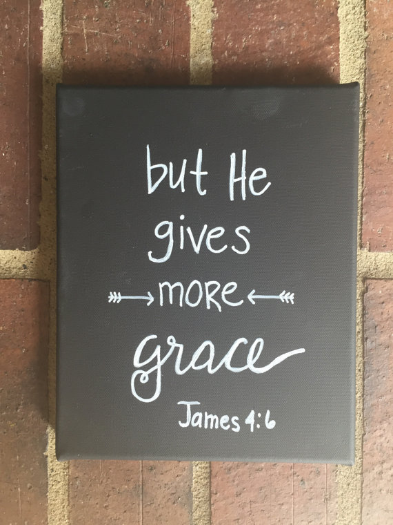 Even more grace, freely given