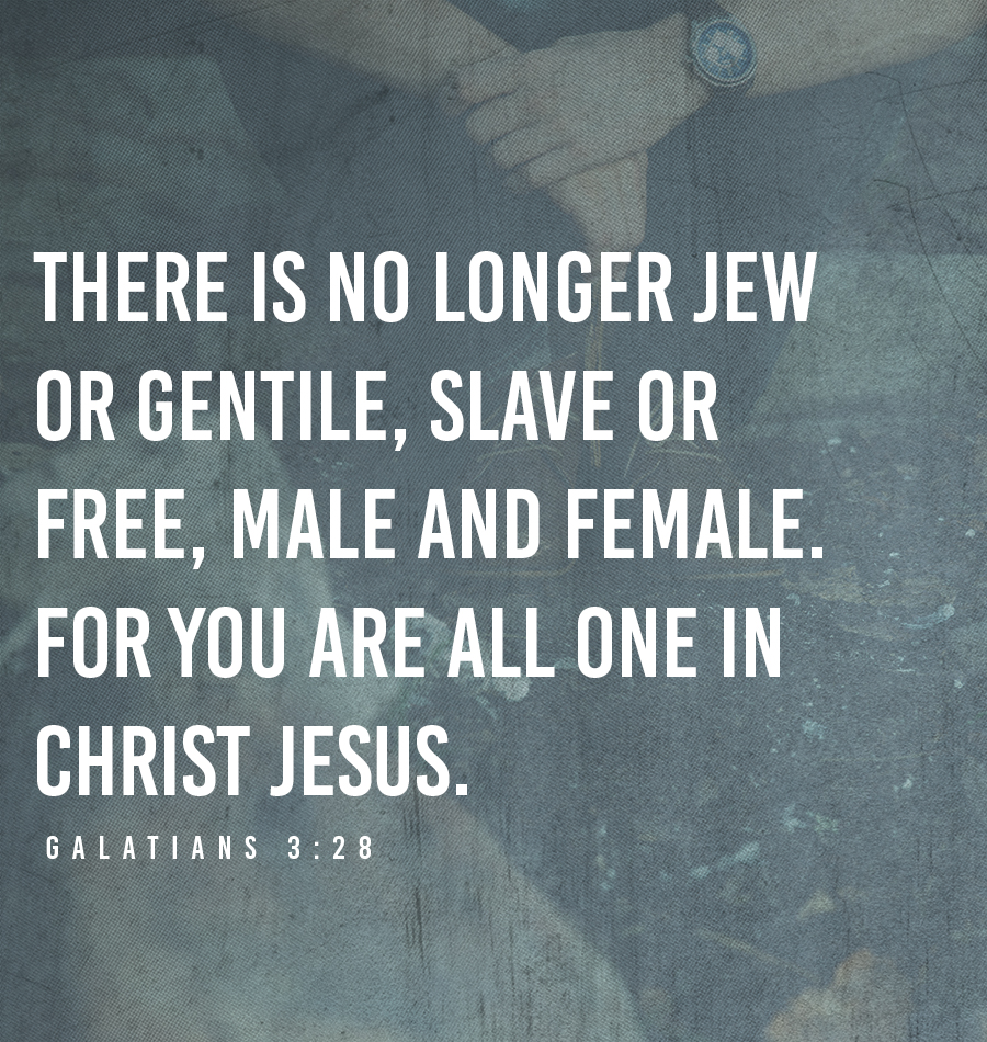 All are ONE in Christ