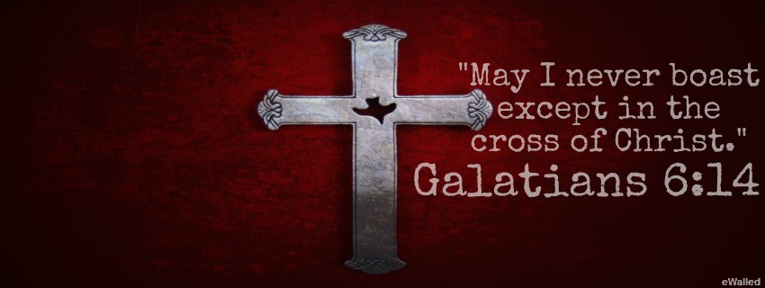 May I never boast except in the cross…